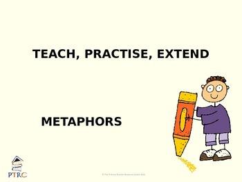 Metaphor Teaching PowerPoint