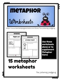 Metaphor Worksheets