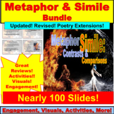Metaphor and Simile BUNDLE PowerPoint Activities and Lessons