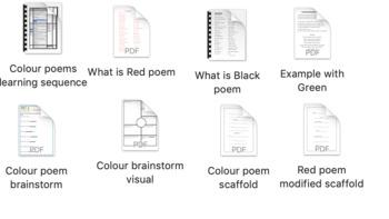 Metaphoric Colour Poems