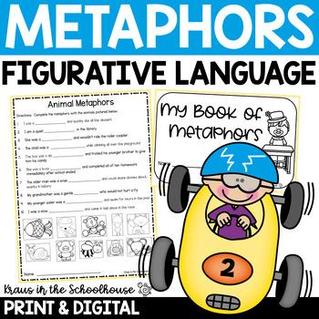 Metaphors - Engaging Activities to Teach Figurative Language