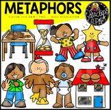 Figurative Language - Metaphors Clip Art Set {Educlips Clipart}