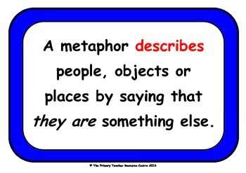 Metaphors Display Poster Pack