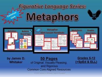 Metaphors Figurative Language Series Common Core