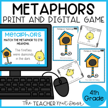 Metaphors Game | Metaphors Center | Figurative Language: Metaphors