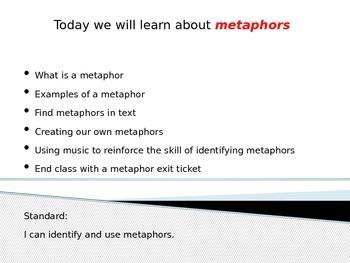 Metaphors Power Point