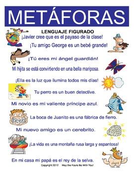Metaphors Figurative Language in Spanish