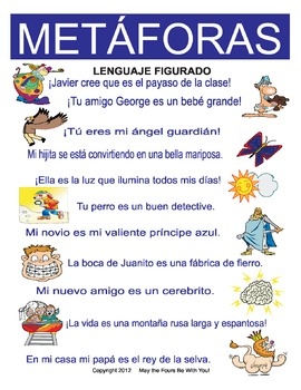 Metaphors Figurative Language in Spanish