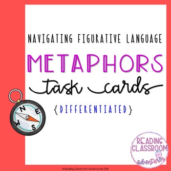 Metaphors Task Cards {Differentiated}