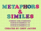 Metaphors and Similes, Figurative Language, Power Point
