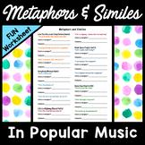 Metaphors and Similes Worksheet