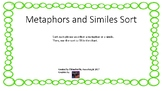 Metaphors and Similes Sort