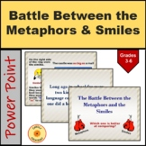 Metaphors and Similies Powerpoint with Class Activity