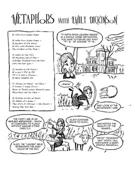 Emily Dickinson Explains Metaphors: Poetry Comics: Activities Included