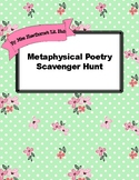 Metaphysical Poetry Scavenger Hunt