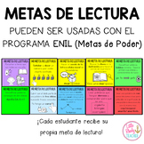 Metas de Lectura (Pueden ser usadas con ENIL)