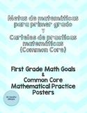 Metas y practicas de matemáticas (Bilingüe)