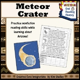 Meteor Crater Fluency - FREEBIE
