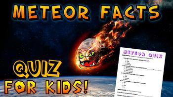 Meteor Facts Quiz!