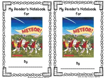 Meteor! by Patricia Polacco {Book Study and Center Activities}
