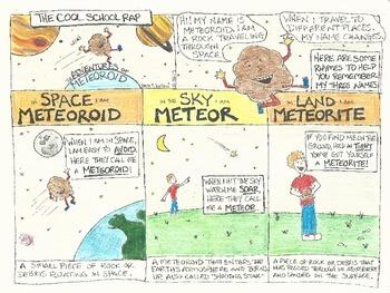 Meteoroid Comic