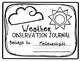 Meteorologist Weather Observation Journal Notebook