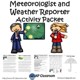 Meteorologist and Weather Reporter Activity Packet and Worksheets