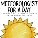 Meteorologist for a Day {A Weather Project for 2nd Graders}