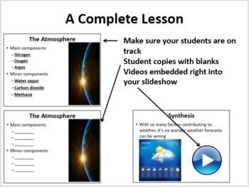 Meteorology - 5E Lesson Bundle