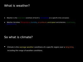 Meteorology Notes