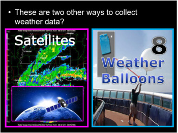 Meteorology, Weather Tools, Climate Change Quiz Game
