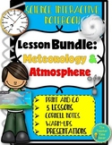 Climate, Weather & Atmosphere Lesson Bundle: Earth Science Interactive Notebook