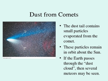 Meteors, Comets & Asteroids
