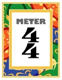 Meter 4/4 Poster