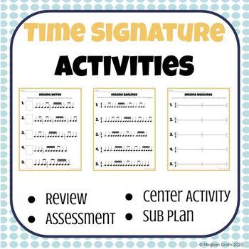 Time Signature/Meter Signature Assessments (2)