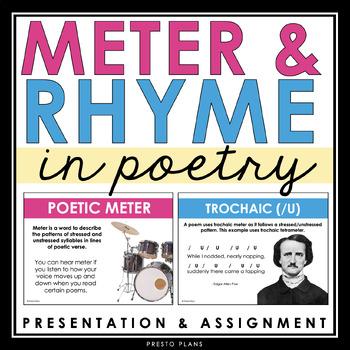 Rhythm And Rhyme Poetry Teaching Resources | Teachers Pay Teachers