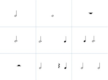 Meterland--A Time Signature Game for practicing 2/4, 3/4 and 4/4 meter