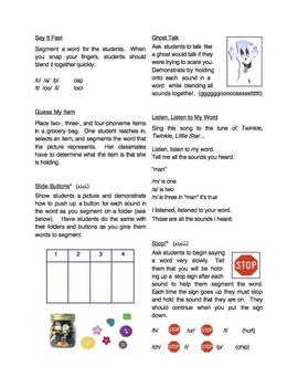 Method Mania: Activities to Teach Phonological Awareness Skills and Strategies