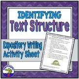 Expository Writing - Identifying Text Structure