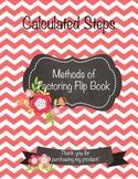 Methods of Factoring Flip Book
