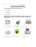 Methods of Heat Transfer in Cooking