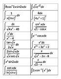Methods of Integration Round Robin Review - AP Calculus BC