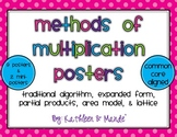 Methods of Multiplication Posters ~ CCSS Aligned