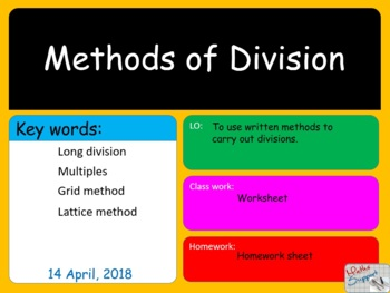 Methods of division