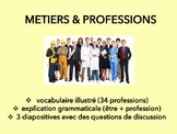 Métiers et professions, vocabulary introduction & speaking