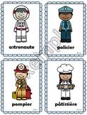 Métiers: mots-étiquettes