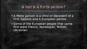 Metis History in Canada