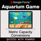 Metric Capacity Conversions | Aquarium Game | Google Forms