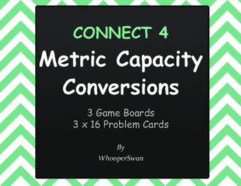 Metric Capacity Conversions - Connect 4 Game