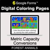 Metric Capacity Conversions - Digital Coloring Pages | Goo